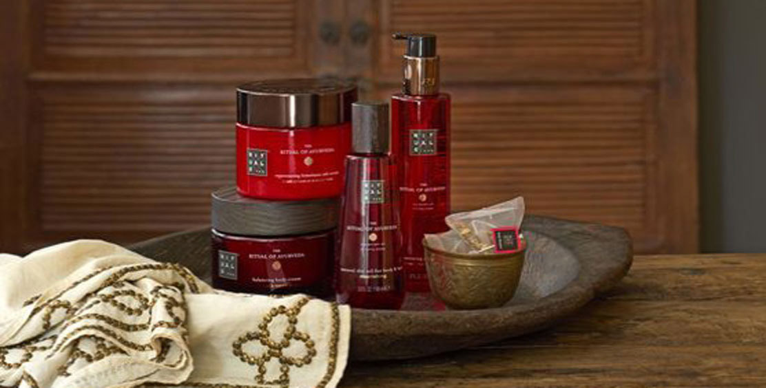 """Rituals"" care products in ACASA Suites Zurich"
