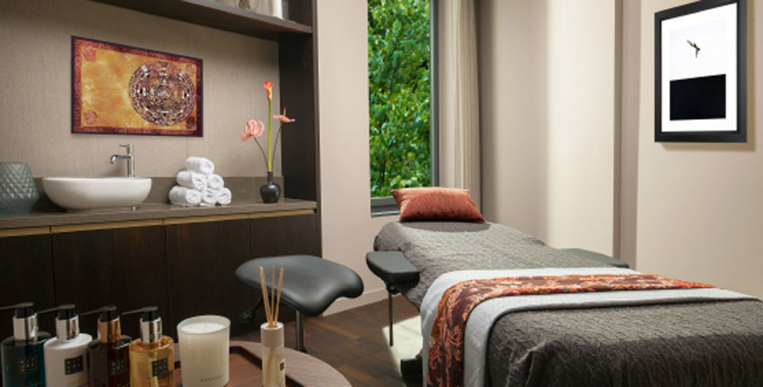 Massage room at the hotel ACASA Suites Zurich's wellness and spa area – for your well-being