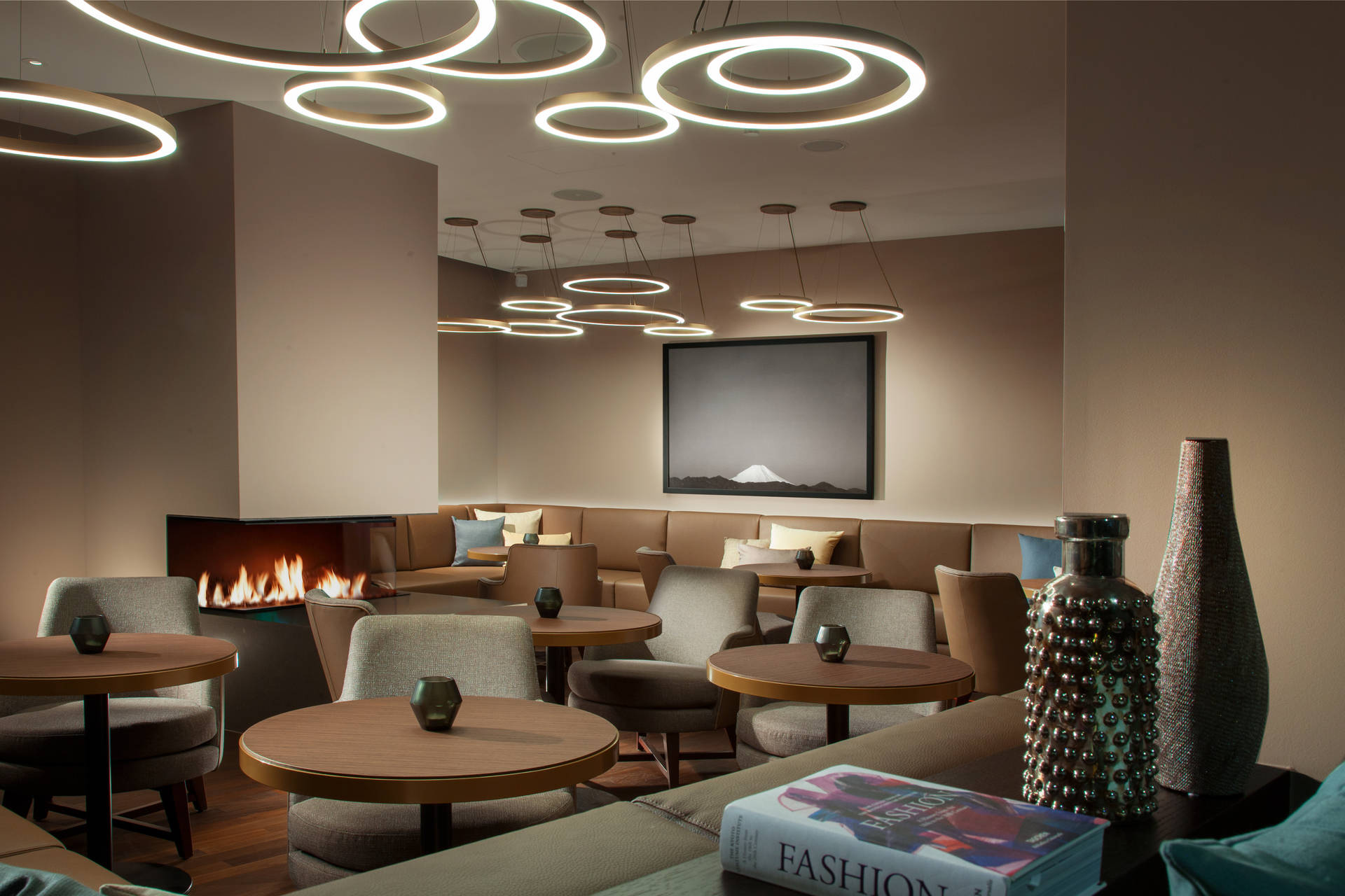 Lounge in ACASA Suites Zurich
