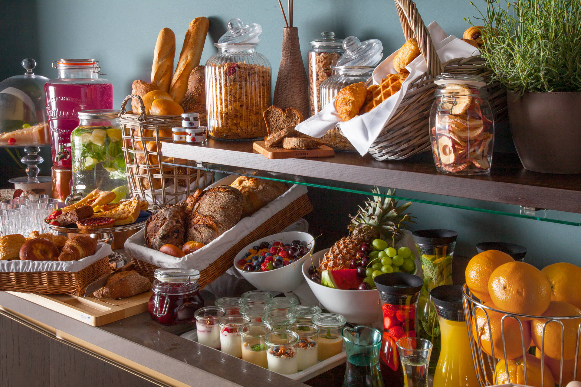 Local, fresh and homemade – breakfast buffet in ACASA Suites Zurich